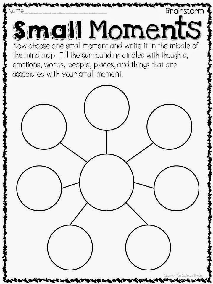 Teaching Personal Narratives Graphic Organizers
