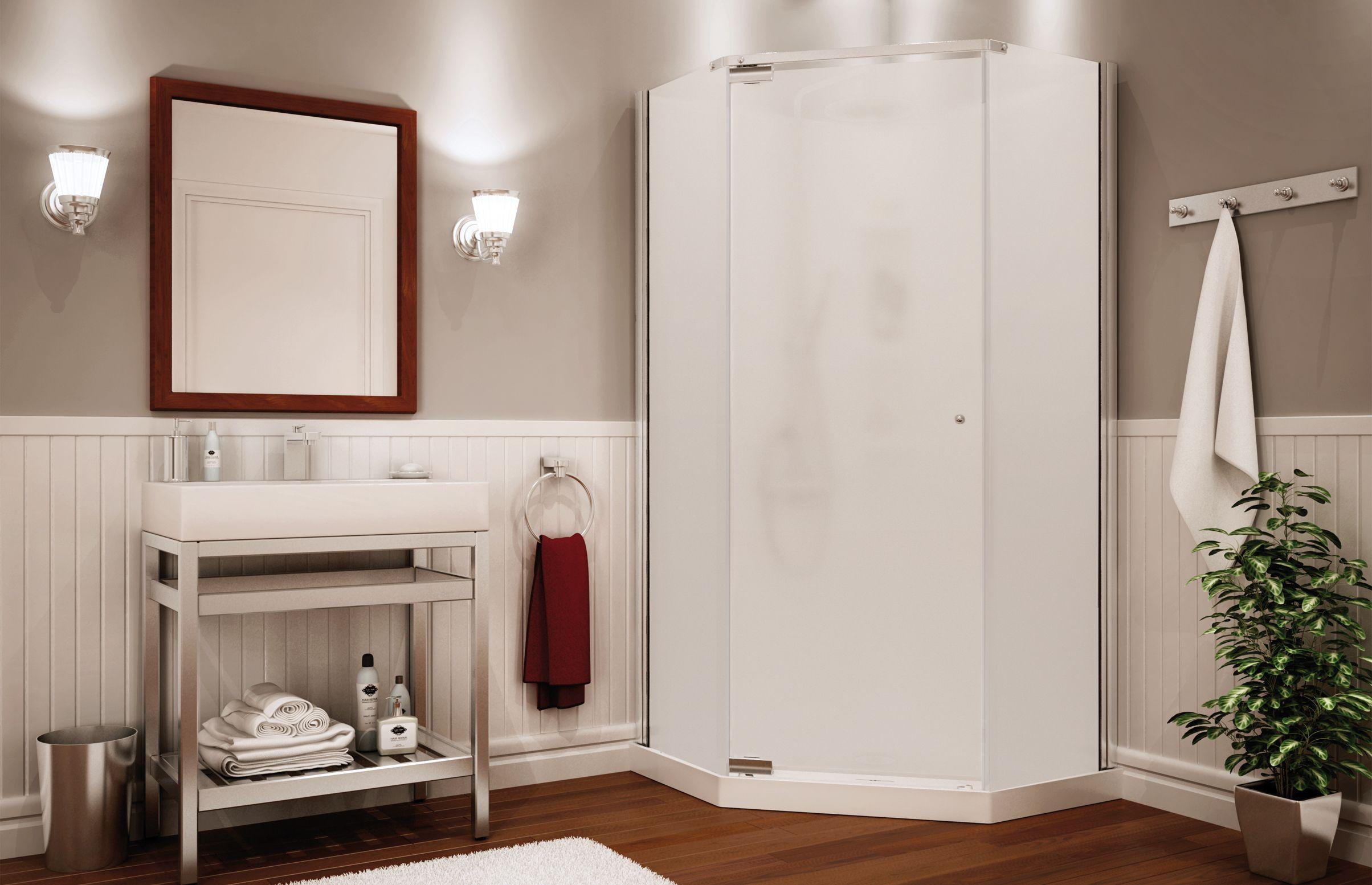 pinkathy ricci on bathroom ideas  corner shower units