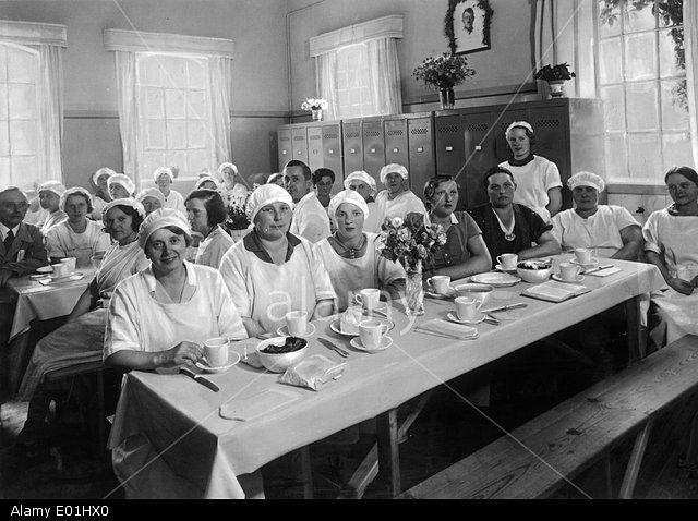 Margarinefabrik in Norddeutschland, 1934
