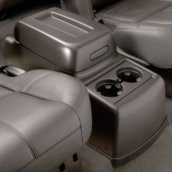 Awe Inspiring Rear Floor Console 2Nd Row With Bucket Seats Al4 Titanium Machost Co Dining Chair Design Ideas Machostcouk