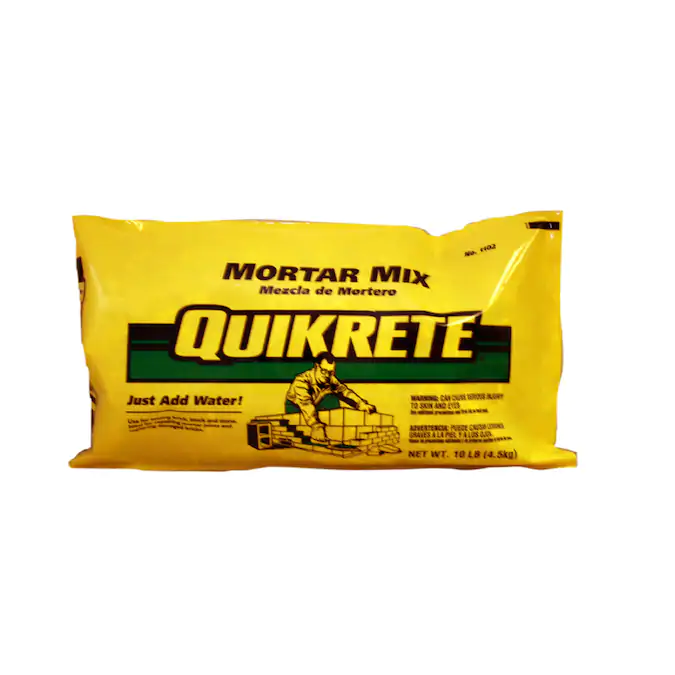 Quikrete 10 Lb Gray Type N Mortar Mix In The Mortar Mix Department At Lowes Com