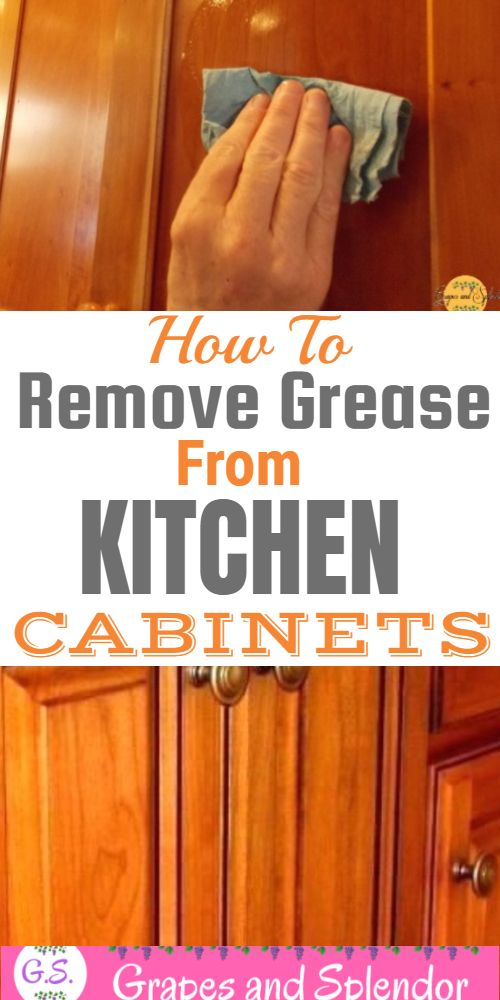 Best Way To Clean Your Kitchen Cabinets-Without Hurting ...