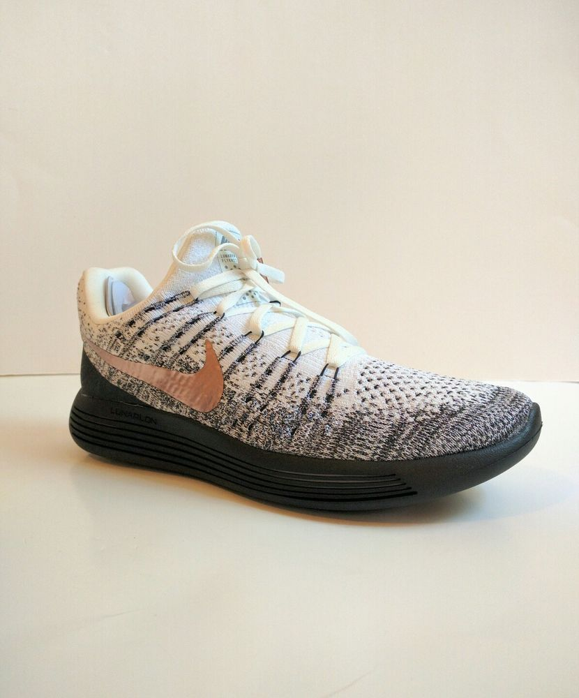 the best attitude 0ea18 39b66 fashion Nike LUNAREPIC LOW FLYKNIT 2 EXPLORER White Black Bronze 904742-100  Size 10.5