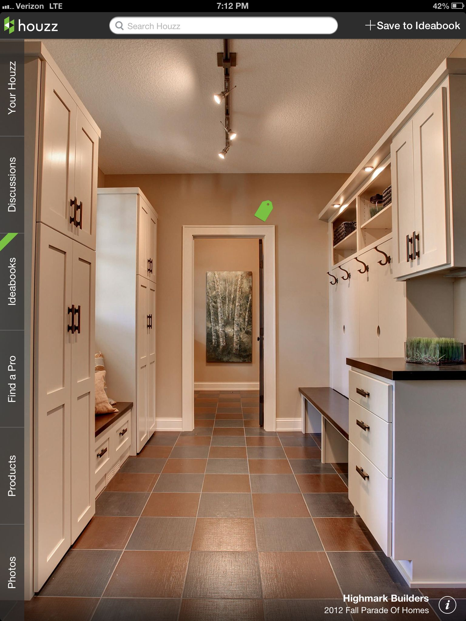 2012 Fall Parade Of Homes - contemporary - laundry room - minneapolis -  Highmark Builders Mudroom