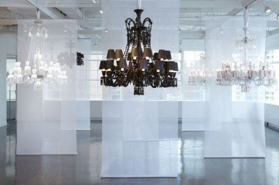 Baccarat S First U.s Lighting Showroom Architectural Digest