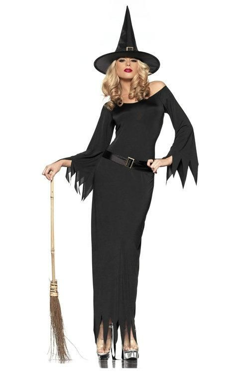 black witch costumes for halloween - Clothes Halloween