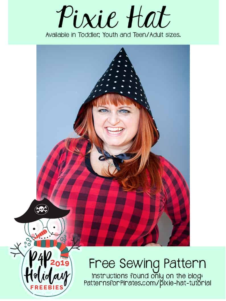 Free Pixie Hat Patterns For Pirates Hat Tutorial Pixie