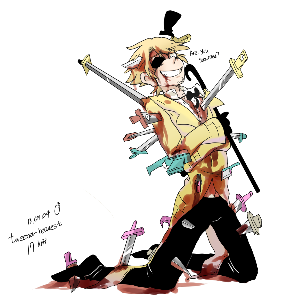 Stab me as much as you like, now are you satisfied?! >>>gravity falls bill cipher - Google Search