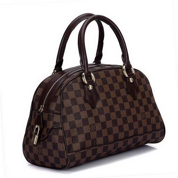 f940f698ba Louis Vuitton Damier Ebene Canvas Duomo N60008 | Styles I Love ...