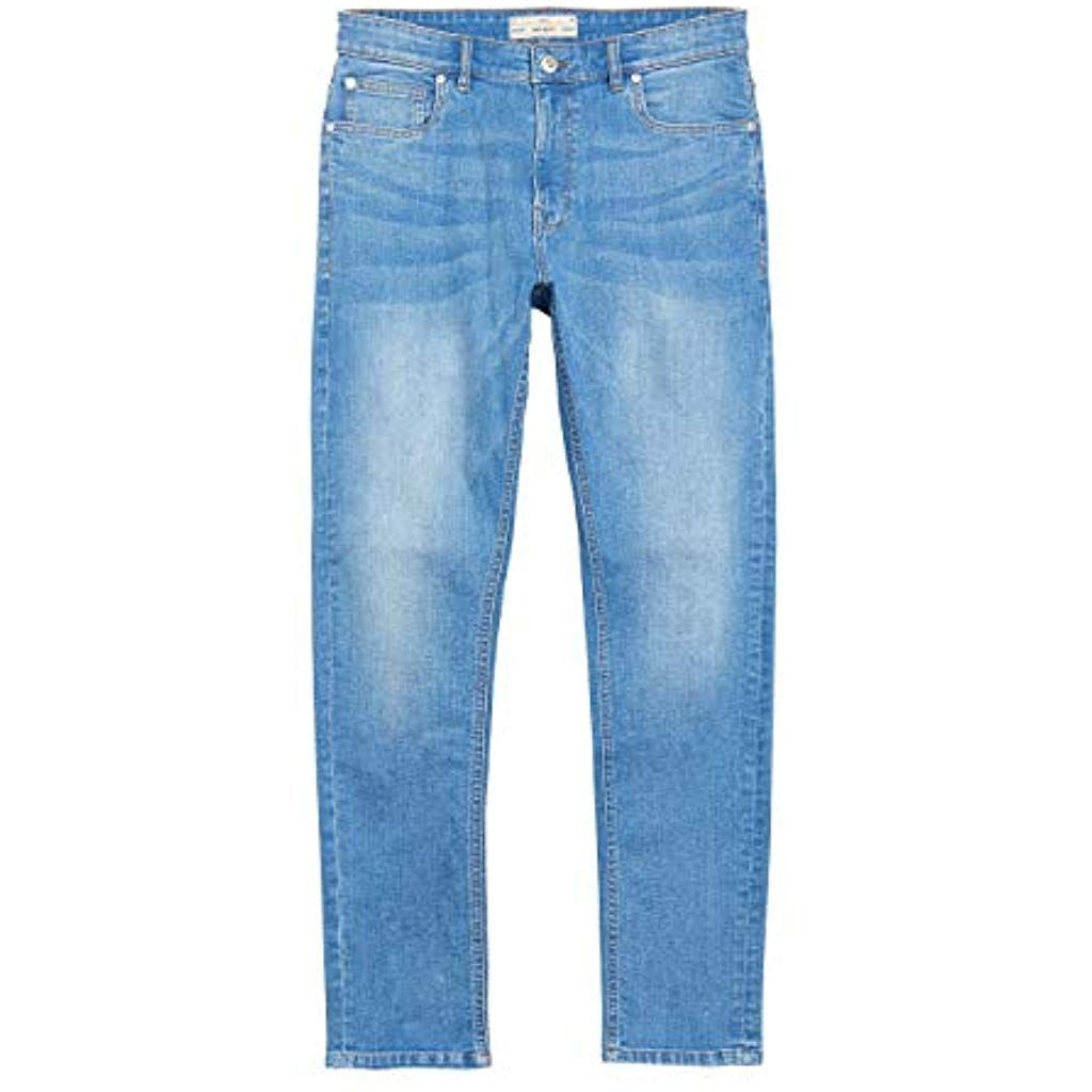 Coupe Jean Homme Next Homme Jean Stretch Coupe Skinny Bleu Eu 86 Long Uk 34l Jeans