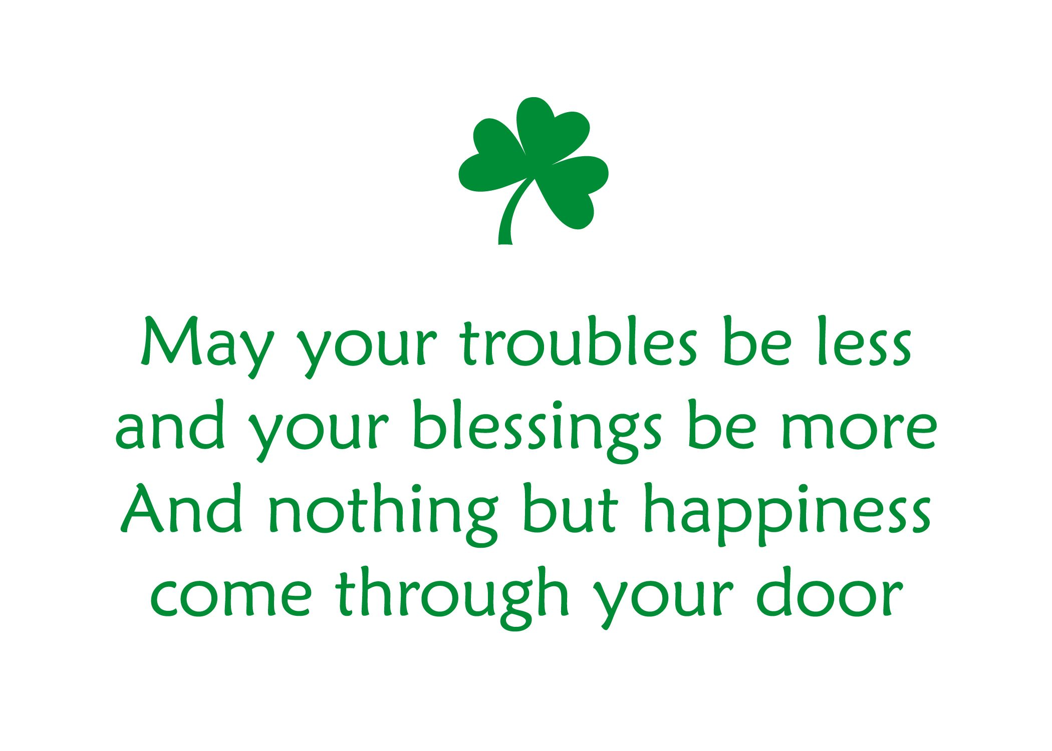 St Patricks Day Quotes Happy St. Patrick's Day Quotes & Sayings | Images with Quotes | St  St Patricks Day Quotes