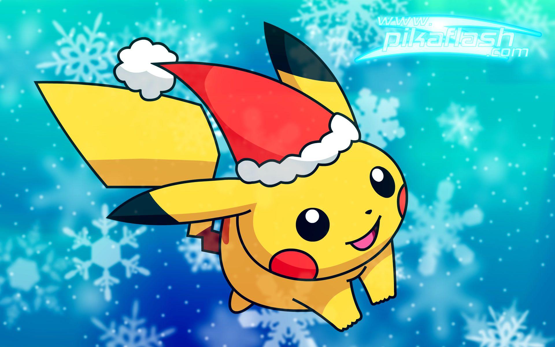 Pokemon Wallpaper Pokemon Pikachu Wallpaper Cute Pokemon Wallpaper Christmas Pokemon