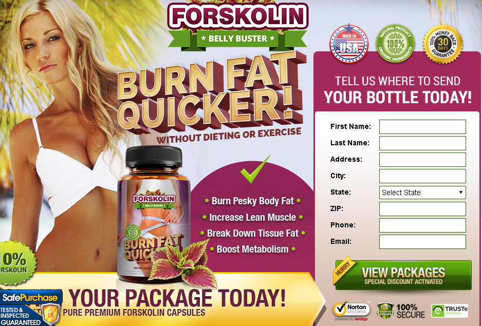 Forskolin Belly Buster is that 100 % flavouring supplement that with competence cleans your colon and reliefs your body from parasites. Its main element Forskolin has an incredible impact on fat burning method with none type of harsh impact on your health. This natural belly buster happen to be supported by this modern fruit's edges. aside from this key ingredient, it consists of the many workplace tested and top quality famed ingredients.