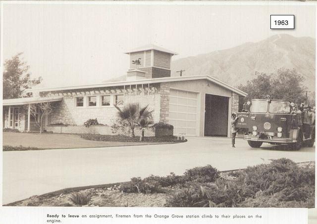 Arcadia Fire Department Cir 1963 California Dreamin Fire Station Fire Department