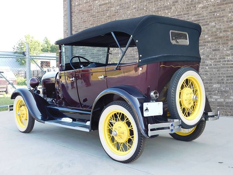 1929 Ford Model A Standard Phaeton Offered For Auction 1749224 Ford Models Ford Car Ford