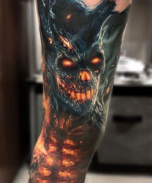 125 besten Schädel Tattoos für Männer: Coole Designs + Ideen (2020 Guide) – …  – My Blog