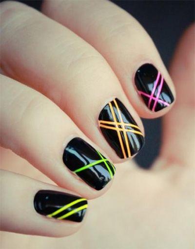 фото рисунки на ногтях легкие