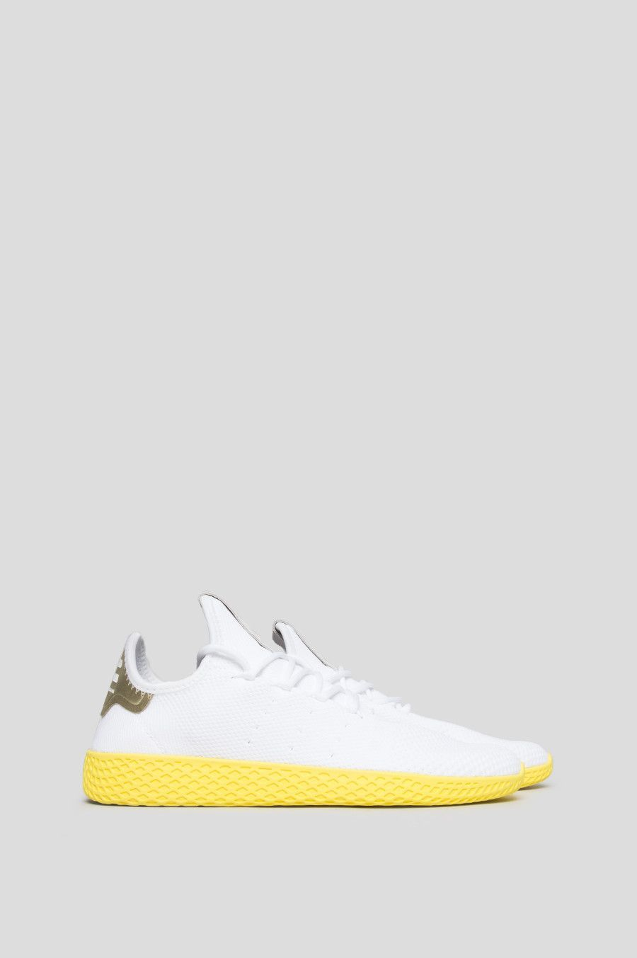 Adidas X Pharrell Williams Tennis Hu White Yellow Pharrell Williams Williams Tennis Pharrell