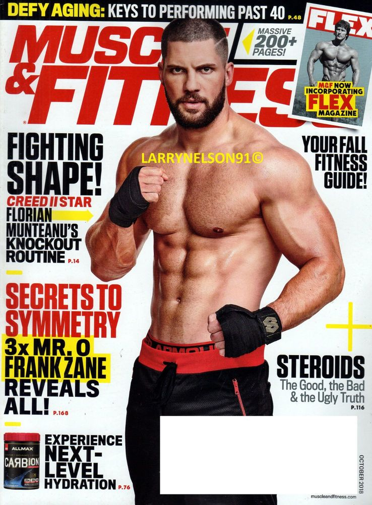 b13b338a9ac Muscle    Fitness   Print + Kindle   Print Magazine American Media ...