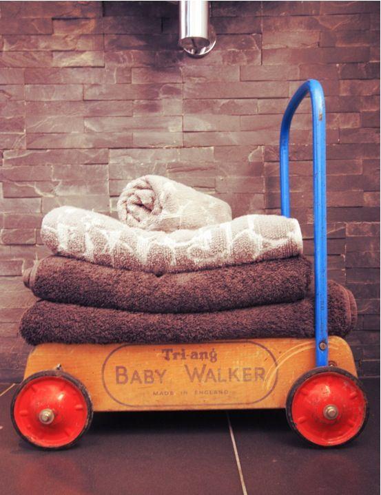 Ensuite Bathroom In Victorian House ensuite, bathroom, vintage tri-ang baby walker - made in england