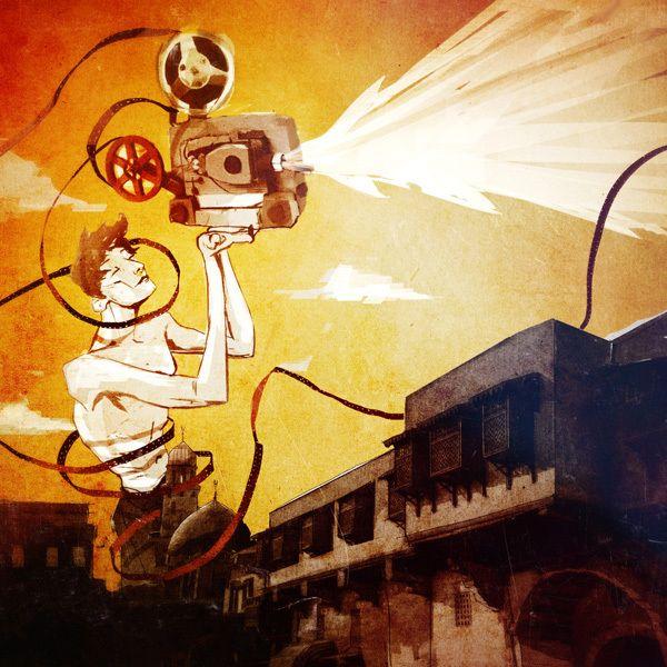 MIFF Middle East & Cinema by Ethem Onur Bilgiç, via Behance