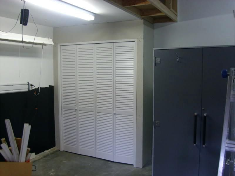 Ideas To Hide Furnace In Bat Idea Water Heater And A Garage