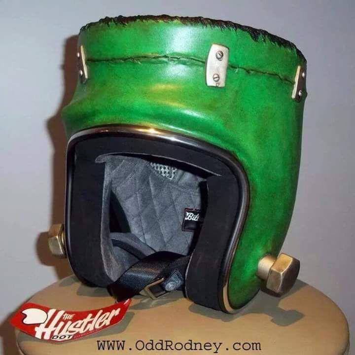 frankenstein motorcycle helmet