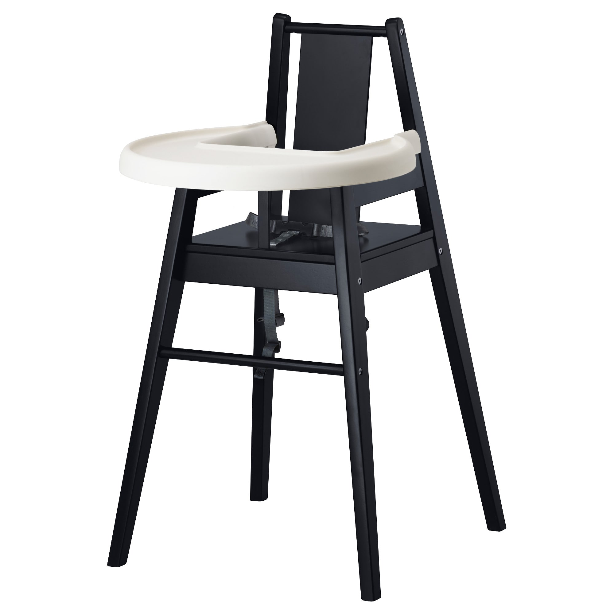 Bl Mes High Chair With Tray  Ikea