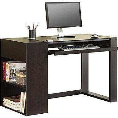 Whalen Axia Computer Desk Espresso Small Computer Desk Whalen