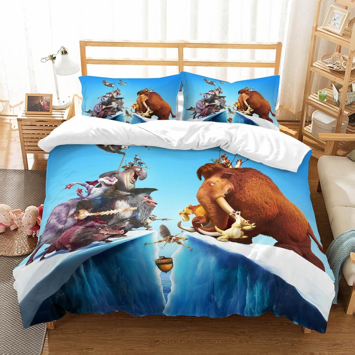 Customize Ice Age Bedding Set Duvet Cover Bedroom Bedlinen Custom Linen