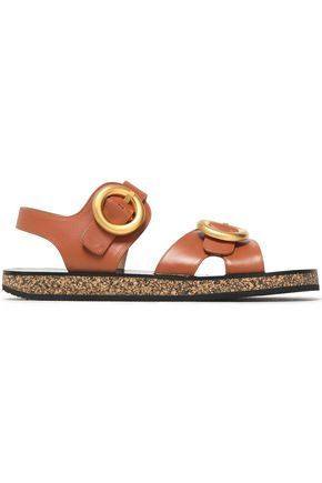 Joseph Woman Buckled Leather Sandals Size 38 StyOUAn
