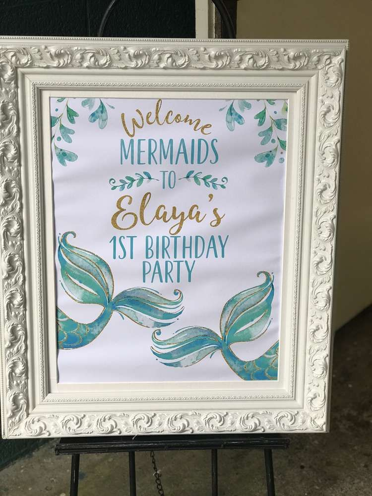 Mermaid Birthday Party Ideas in 2020 Mermaid birthday