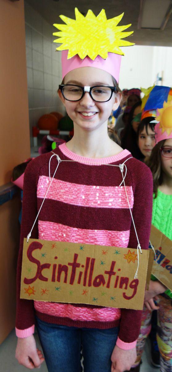 SCINTILLATING! A Vocabulary Parade Costume For A Stretch