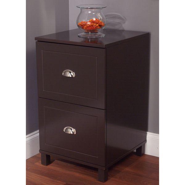 Simple Living Bradley 2-drawer Filing Cabinet | OFFICE | Pinterest ...