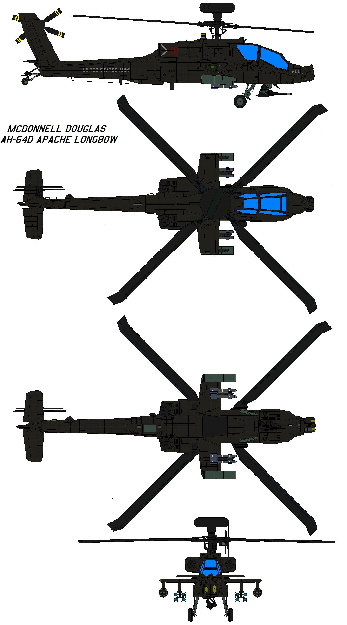 Ah 64d Apache Longbow Ah 64d Military Helicopter Aircraft Maintenance