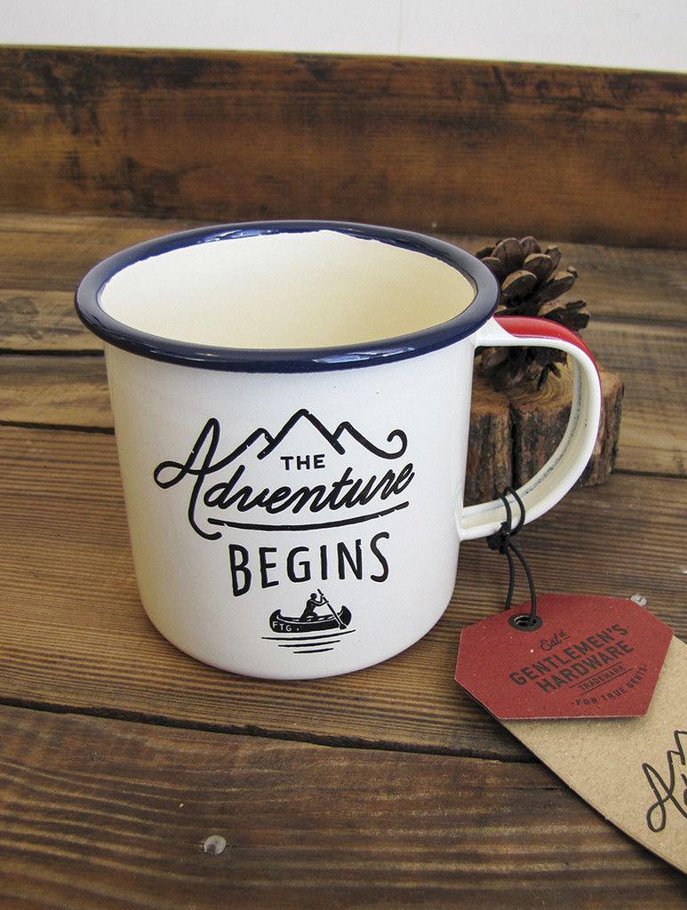 Enamel Adventure Mug