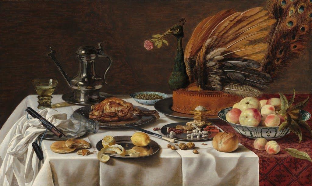 6b938d9ac7 Pieter Claesz - Still Life with a Turkey Pie.
