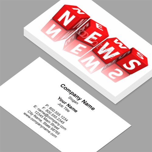 Business Cards Wurfel Cube News 3d Business Card Template Design Business Card Design Professional Business Cards Templates