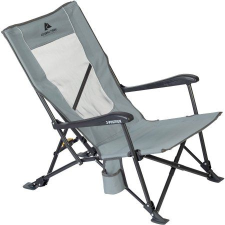 Ozark Trail 3Position Low Profile Chair  Beach Chairs