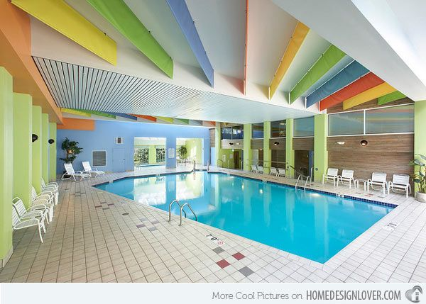 18 rejuvenating indoor pool inspirations indoor pools for Pool design graphic