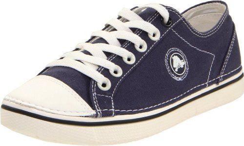 a3271b66d64393 Crocs Women s Hover Lace-Up Canvas Sneaker