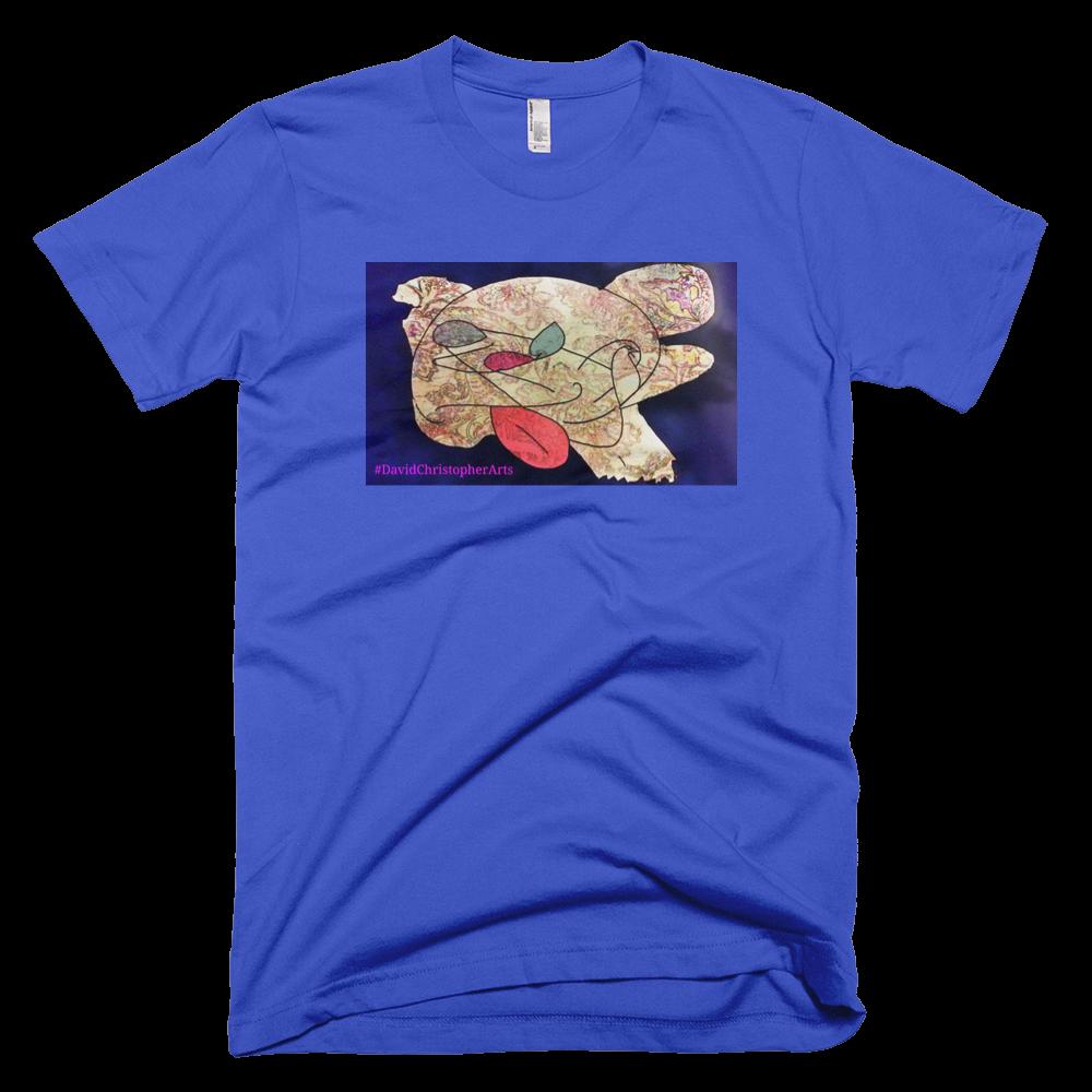 Lost Dog Royal Blue Short Sleeve T-Shirt