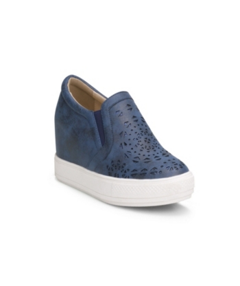 943174a838 Wanted Hidden Wedge Sneaker With Laser Cut Upper Women Shoes in 2019 ...