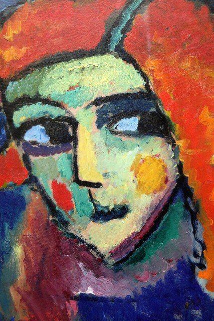 Alexei Von Jawlensky Portraiture Painting Art Portrait Painting