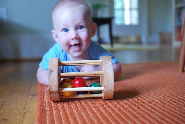 Ball Cylinder (6-8 months) Beginning Montessori Materials ...