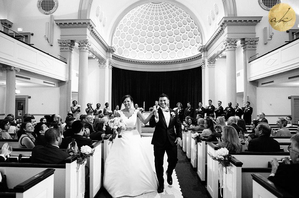 University Of Maryland Memorial Chapel Wedding