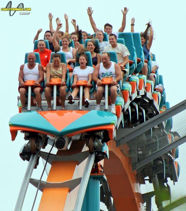 Six Flags Over Georgia Roller Coaster Amusement Park Rides Thrill Ride