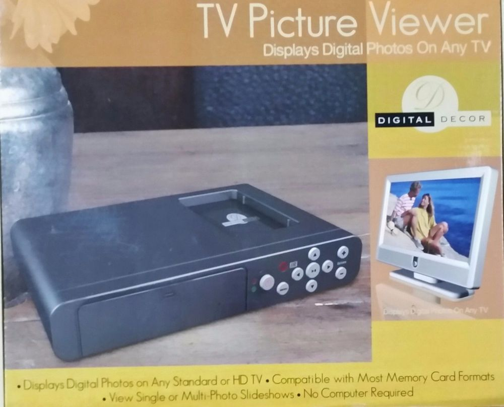 Digital Decor Tv Picture Viewer With