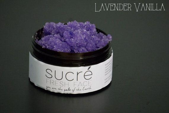 Sucré Lavender Vanilla Dead Sea Face Scrub  2 4 by SucreFreshFace