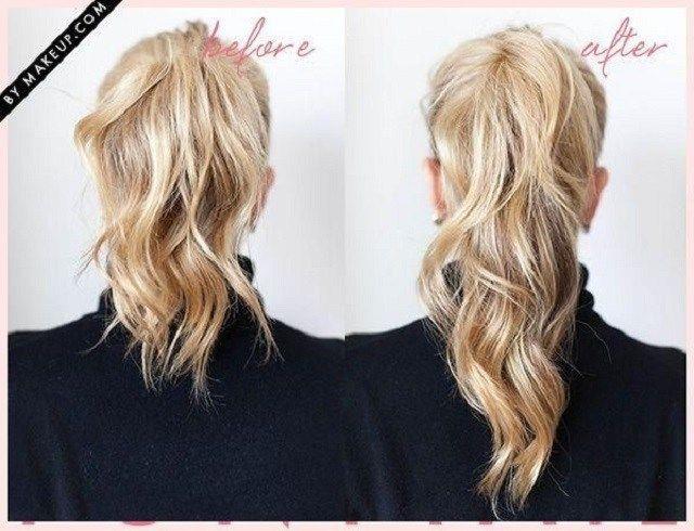 Tenemos un truco para hacer que tu cola de caballo se vea más voluminosa y larga   #ColaDeCaballo #Peinados